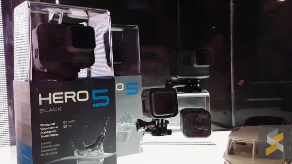 We take a quick look at the brand new GoPro HERO5 and Karma