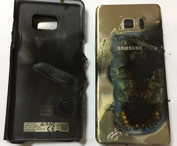 This could be the first case of a Galaxy Note7 catching fire in Malaysia