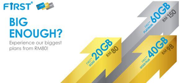 Go big or go home with Celcom FIRST Postpaid Plans