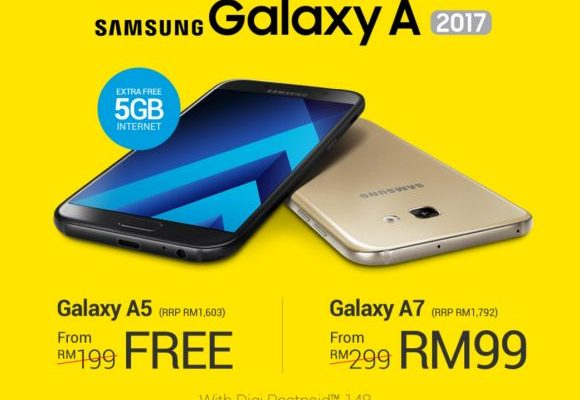 Samsung Galaxy A 2017 is available for pre-order with Digi