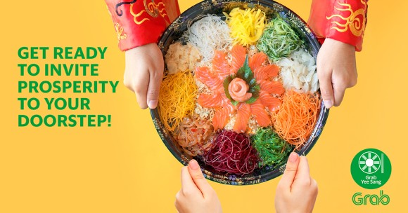Grab a bite of Yee Sang this Chinese New Year