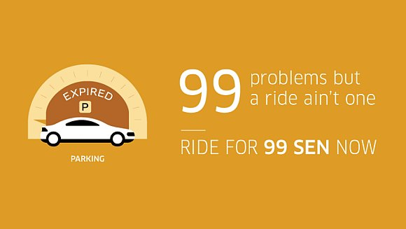 Uber wants you to get around KL for only 99sen