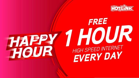 Hotlink's Happy Hour gives you free 1GB high-speed data daily