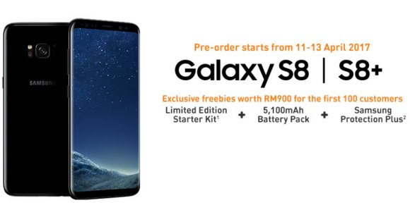 U Mobile offers the Galaxy S8 from RM1,819