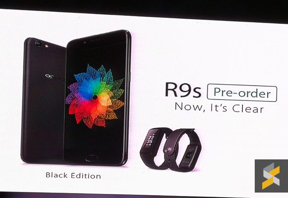 The OPPO R9s now comes in black. Pre-orders now available in Malaysia.