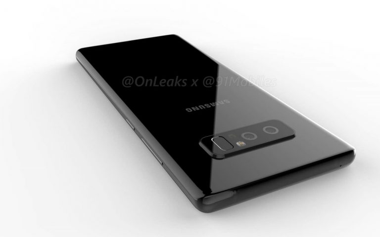 This is what the Galaxy Note8 might look like
