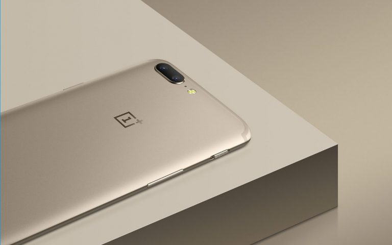OnePlus 5 now comes in limited edition Soft Gold