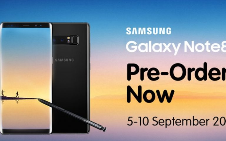 Yes 4G offers the Samsung Galaxy Note8 from RM1,899