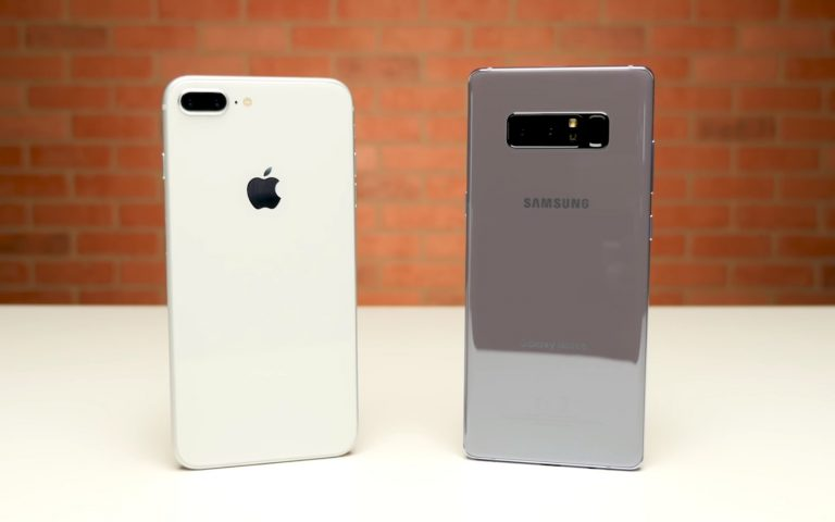 Speed test: iPhone 8 Plus vs Galaxy Note8