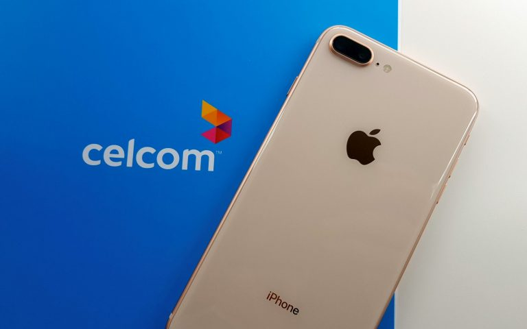 Celcom offers the iPhone 8 from as low as RM83/month