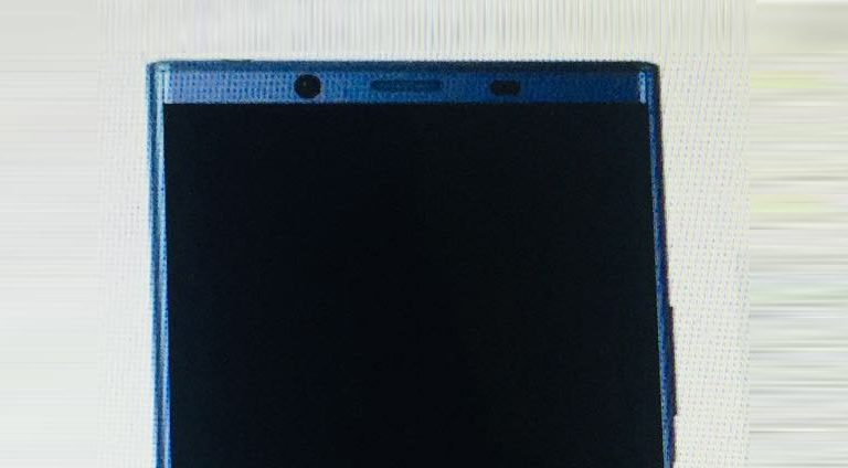 """Could this be Sony's upcoming """"bezel-less"""" flagship smartphone?"""