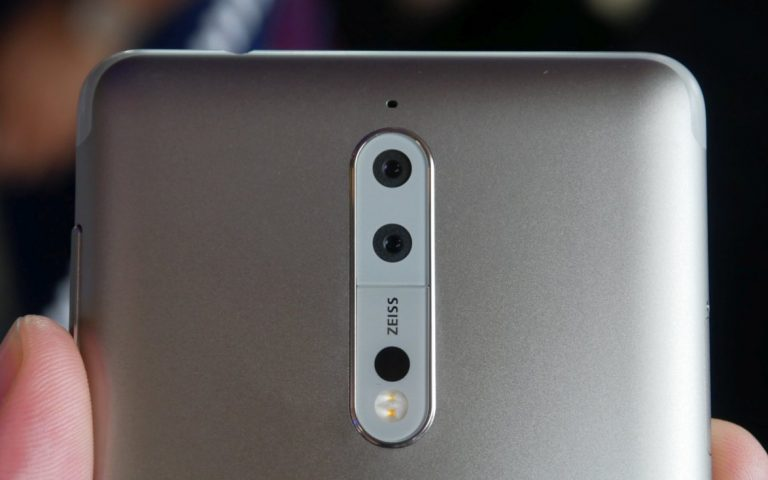The Nokia 8 camera is worse than the iPhone 6 according to DxOMark