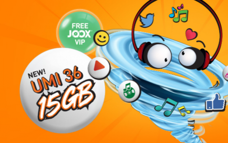 """U Mobile introduces two new prepaid monthly plans with more """"unlimited"""" data and free JOOX VIP"""