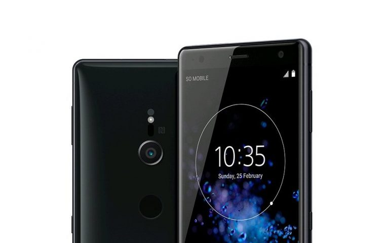 This is the Sony Xperia XZ2 and it's their first 18:9 display smartphone