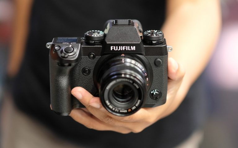 Fujifilm X-H1: Chunky, but in the best way possible