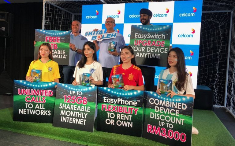 Celcom introduces a new Mobile Family Plan with 1TB of video streaming data
