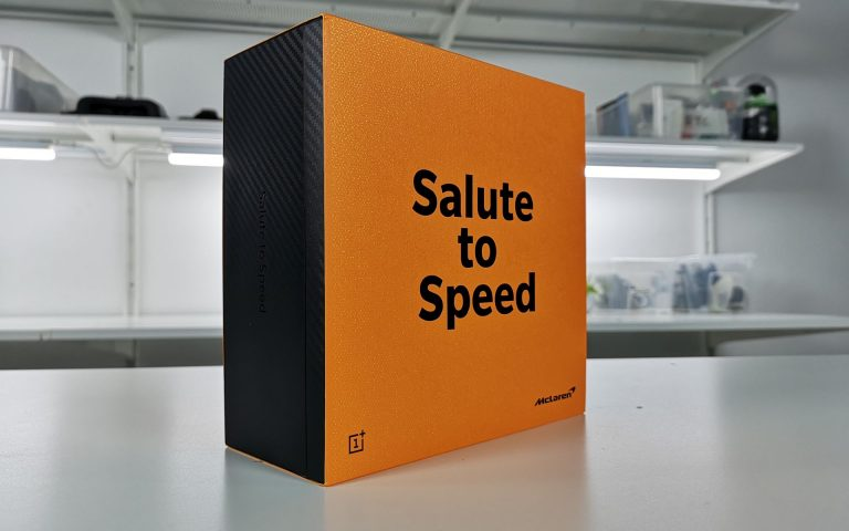 I'd buy the OnePlus 6T McLaren edition just for the box