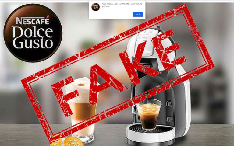 FAKE NEWS: Nescafe is NOT giving away free coffee machines for testers