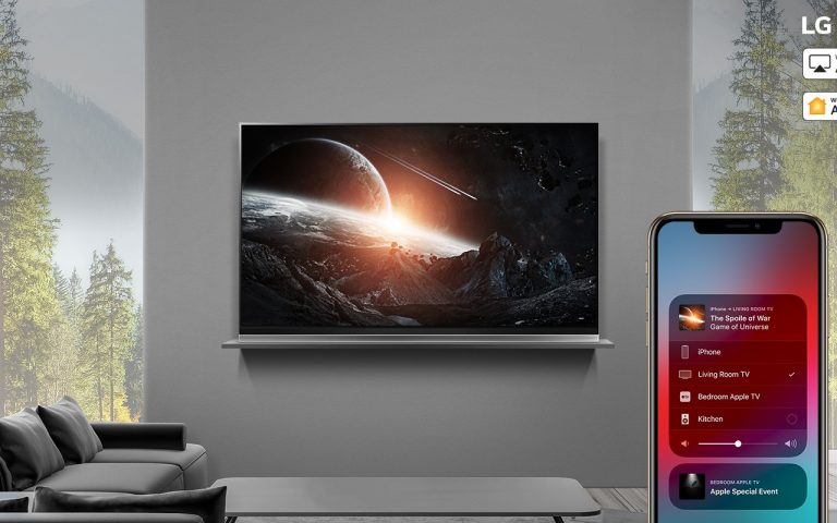 LG becomes first TV brand to support Apple HomeKit, along with AirPlay 2