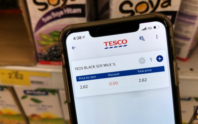Time-saving Tesco Scan & Shop now available throughout Malaysia