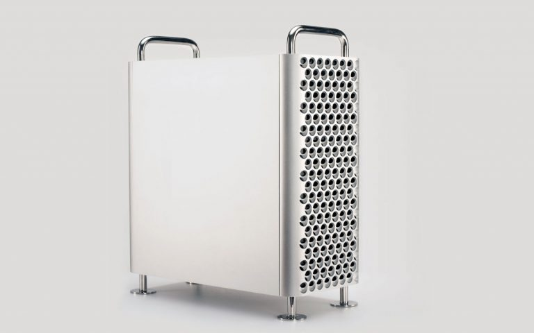 "You can build your own PC that looks like a ""cheese-grating"" Mac Pro"