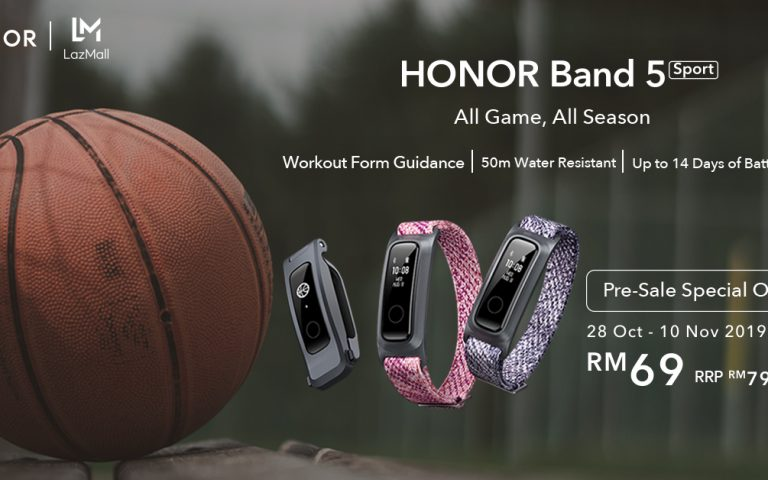 Honor Band 5 Sport: A cheaper fitness tracker is coming to Malaysia soon