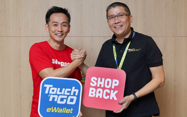 Reload your Touch n' Go eWallet via ShopBack to get monthly cashback