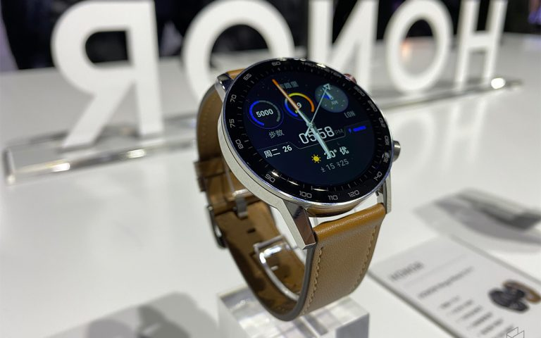 Honor Magic Watch 2 with leather strap available on 20 Jan