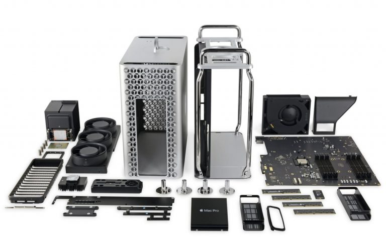 The Mac Pro 2019 is currently the easiest new Apple product to repair
