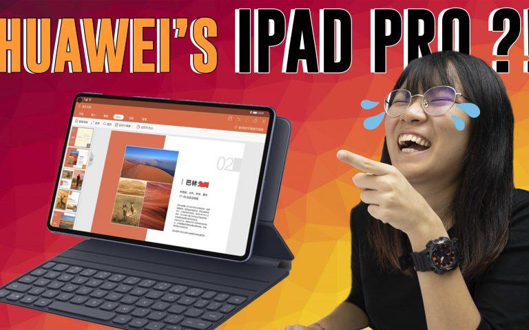 Huawei's tablet looks like the iPad Pro | ICYMI #223