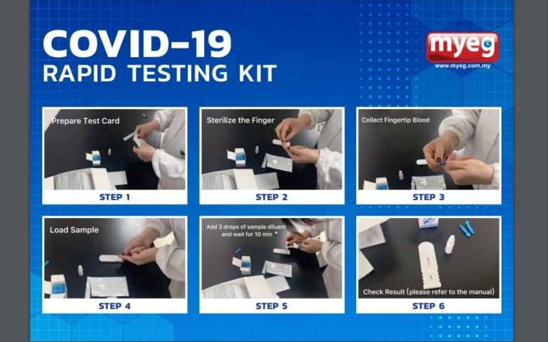 MDA: MyEG not authorised to advertise or sell COVID-19 test kits