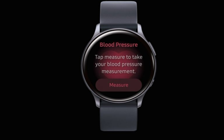 Blood pressure monitoring is coming to the Galaxy Watch Active 2
