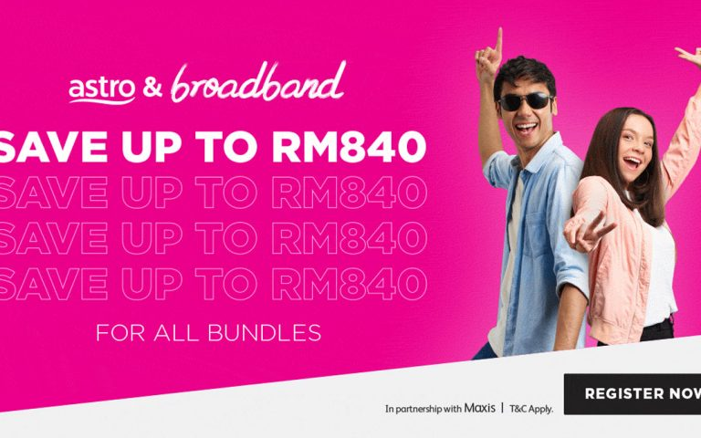 What if you could have all your entertainment and broadband needs settled from RM99 per month?