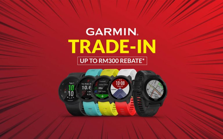 Deal: Trade in any old watch to get a RM300 rebate on a Garmin Forerunner smartwatch