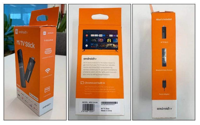 Here's a clear look at the Xiaomi Mi TV Stick with Android TV