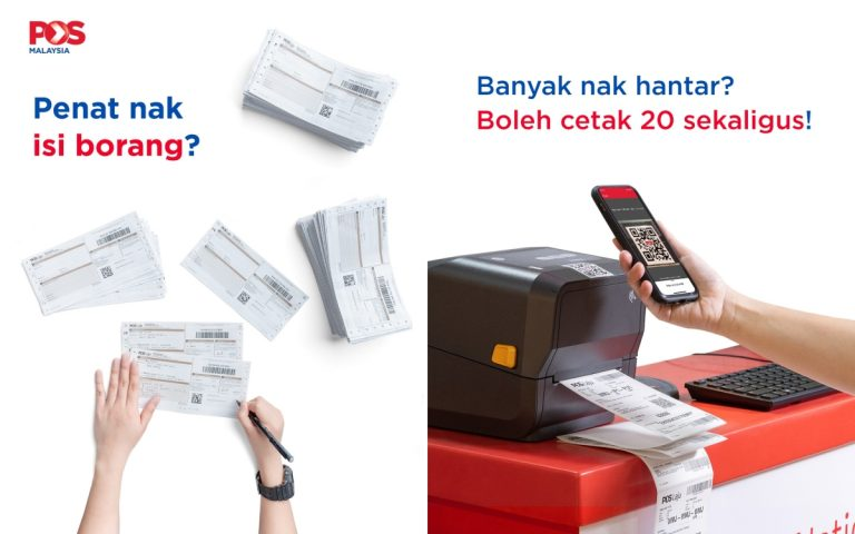 Posting items via Pos Laju is now easier with e-consignment notes