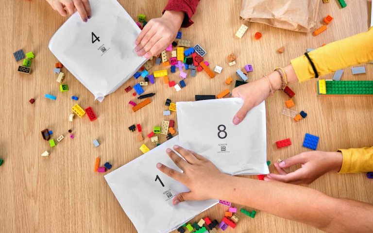 Lego will make sustainable packaging for their bricks by 2025