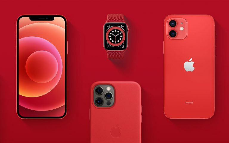 Sales of Product(Red) iPhone 12 and Apple Watch will help fund efforts to fight COVID-19