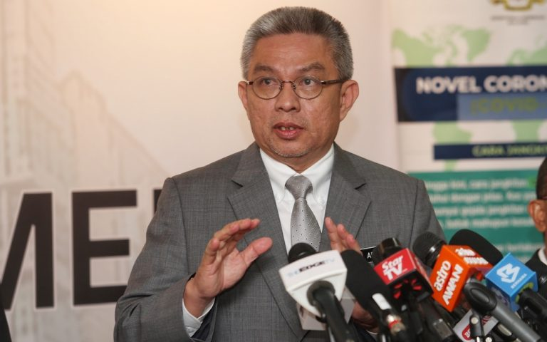 Health Minister: Malaysia to finalise COVID-19 vaccine deal with UK's AstraZeneca