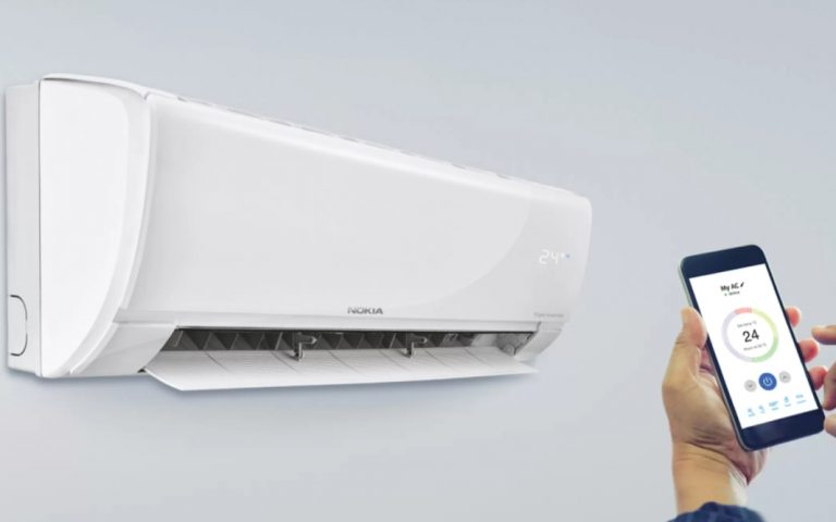 Nokia's new WiFi-connected smart air conditioners can be controlled with a smartphone