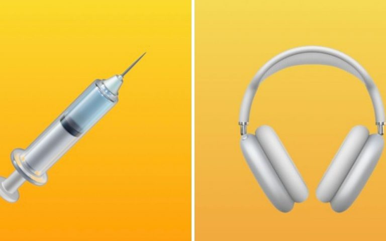 "iOS 14.5: Apple introduces AirPods Max emoji, and makes the syringe ""vaccine-friendly"""