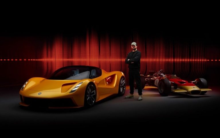 """The Lotus Evija will have its """"engine sound"""" remixed by an award-nominated music producer"""