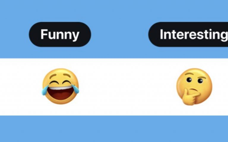 Twitter is thinking of following Facebook's lead by introducing emoji reactions