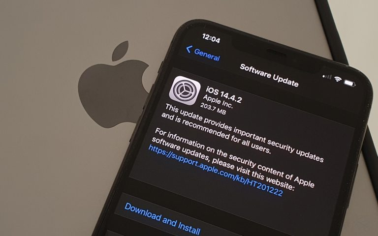 Apple pushes iOS 14.4.2 to fix security flaw that could be exploited by malicious websites