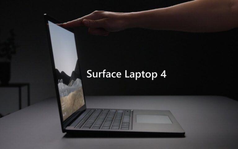 Microsoft Surface Laptop 4: A choice between AMD or Intel processors
