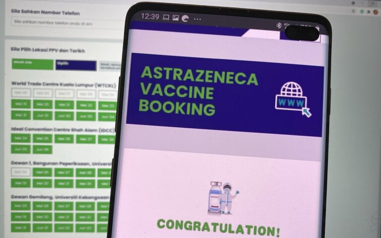 AstraZeneca Booking: Appointment slots still available but they are running out fast