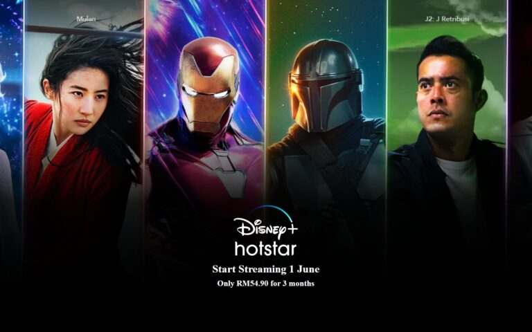 Disney+ Hotstar comes to Malaysia on 1st June, RM54.90 for 3 months