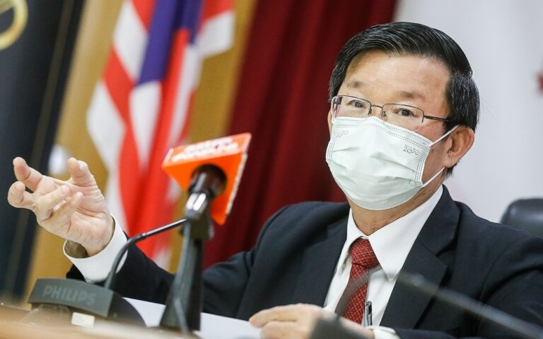 Penang CM apologises for donation fiasco, pledges to buy extra COVID-19 vaccines with state funds