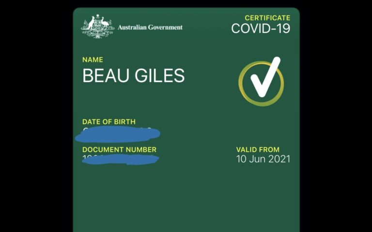 Australia allows vaccinated individuals to add COVID-19 vaccine certificate to Apple Wallet and Google Pay